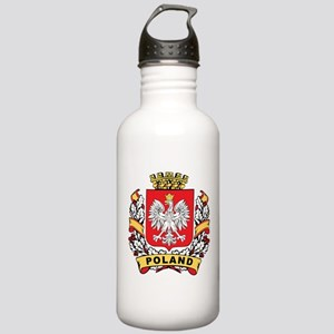 Stylish Poland Crest Stainless Water Bottle 1.0L