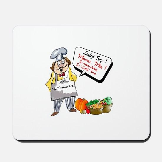 Premium Chef.:-) Mousepad