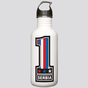 Number One Serbia Stainless Water Bottle 1.0L
