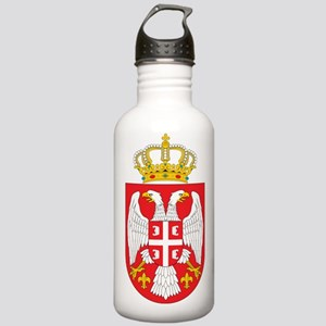 Serbia Coat Of Arms Stainless Water Bottle 1.0L