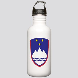 Slovenia Coat Of Arms Stainless Water Bottle 1.0L