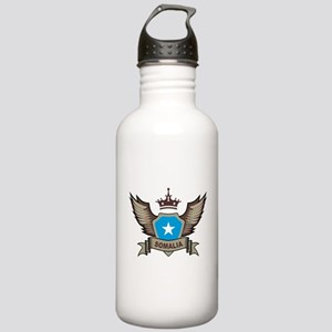 Somalia Emblem Stainless Water Bottle 1.0L