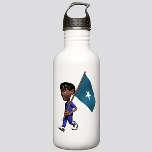 3D Somalia Stainless Water Bottle 1.0L