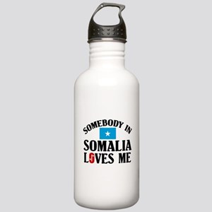 Somebody In Somalia Stainless Water Bottle 1.0L