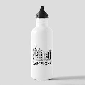 Barcelona Stainless Water Bottle 1.0L