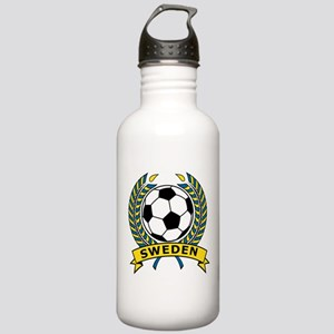 Soccer Sweden Stainless Water Bottle 1.0L