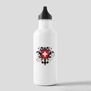 Stylish Switzerland Stainless Water Bottle 1.0L