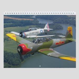 Fly Redstar Wall Calendar