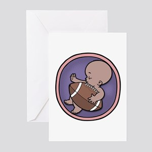 Future Footballer -ds Greeting Cards (Pk of 10)