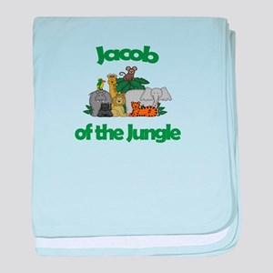 Jacob of the Jungle baby blanket