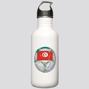 Tunisia Soccer Stainless Water Bottle 1.0L