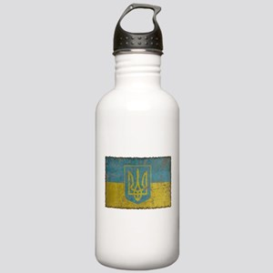 Vintage Ukraine Stainless Water Bottle 1.0L