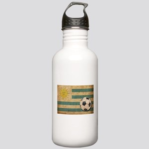 Vintage Uruguay Football Stainless Water Bottle 1.
