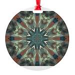 Glass Boomerang Ornament