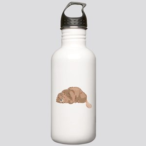 Cute Beaver Stainless Water Bottle 1.0L