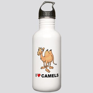 I Love Camels Stainless Water Bottle 1.0L