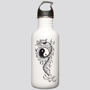 Yin Yang Dragon Stainless Water Bottle 1.0L