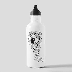Yin Yang Dragon Stainless Water Bottle 1.0L