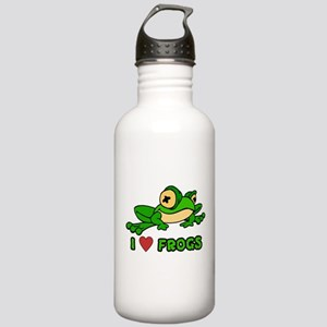I Love Frogs Stainless Water Bottle 1.0L