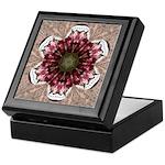 Floral Food on Paper Plates Keepsake Box