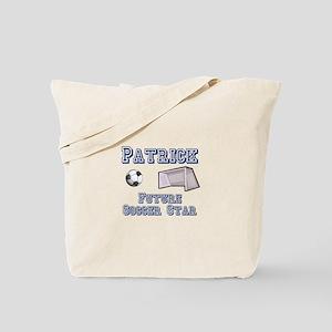 Patrick - Future Soccer Star Tote Bag