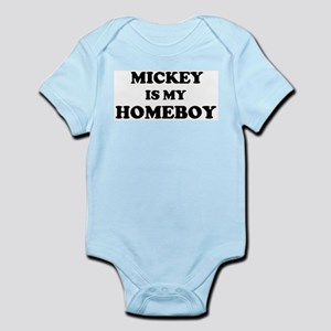 Mickey Is My Homeboy Infant Creeper