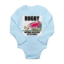 Natural Selection Rugby Long Sleeve Infant Bodysui