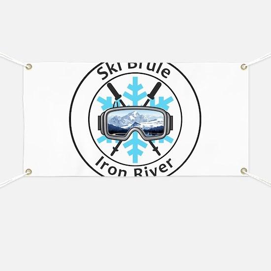 Ski Brule - Iron River - Michigan Banner