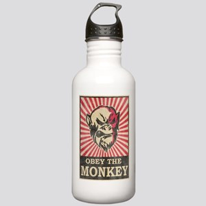 Obey The Monkey Stainless Water Bottle 1.0L