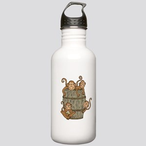 Barrel Monkey Stainless Water Bottle 1.0L