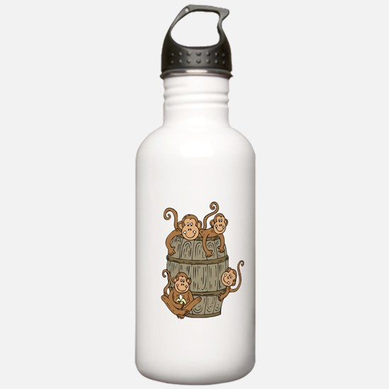 Barrel Monkey Water Bottle