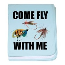 Come Fly With Me baby blanket