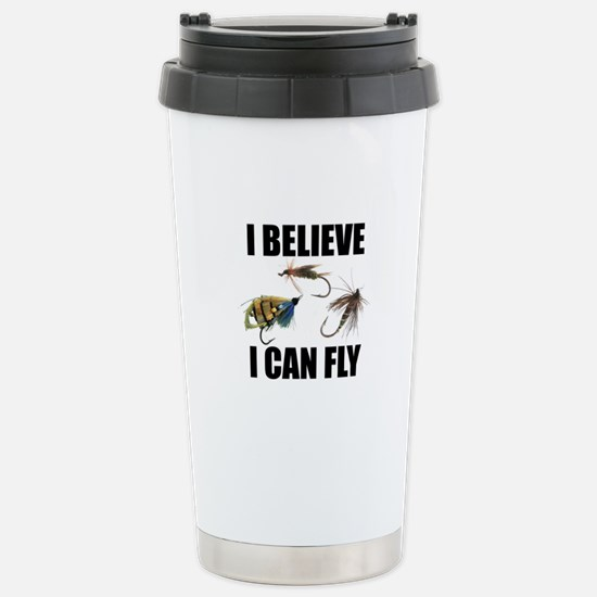 I Believe I Can Fly Stainless Steel Travel Mug