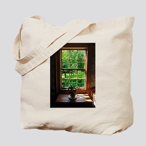 Colonial Cottage Window Tote Bag