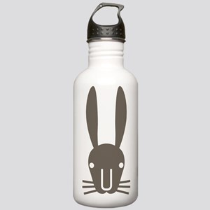 Rabbit Face Stainless Water Bottle 1.0L