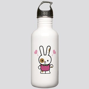 Cute Bunny Stainless Water Bottle 1.0L