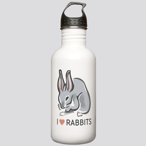 I Love Rabbits Stainless Water Bottle 1.0L