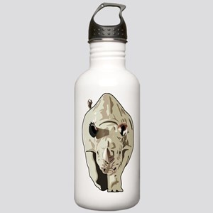 Realistic Rhinoceros Stainless Water Bottle 1.0L