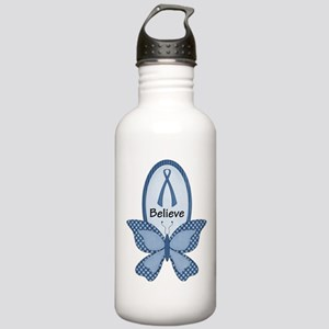 Believe- Blue Awareness Stainless Water Bottle 1.0
