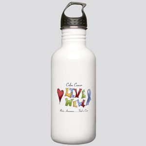 Colon Cancer (lw) Stainless Water Bottle 1.0L