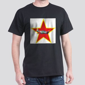 Fly Redstar Black T-Shirt