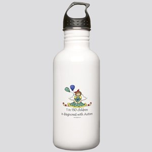 Autism 1 in 150 Stainless Water Bottle 1.0L