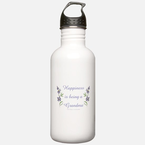 Happy Grandma Water Bottle