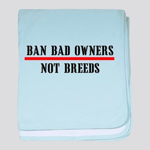 Ban Owners baby blanket