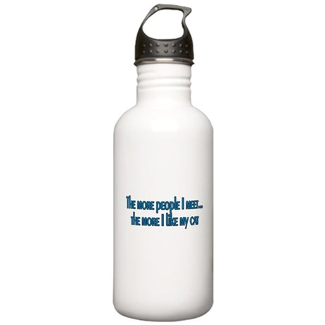 I like My Cat Stainless Water Bottle 1.0L