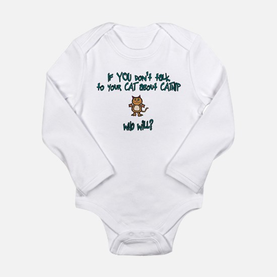 Catnip Long Sleeve Infant Bodysuit
