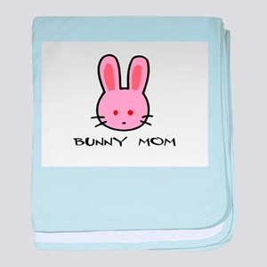 Bunny Mom baby blanket