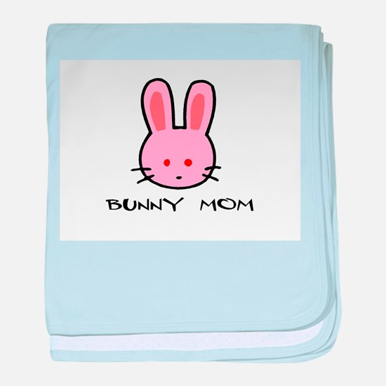 Bunny Mom baby blanket