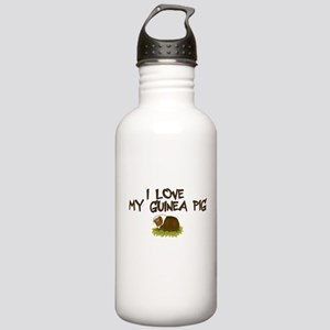 Guinea Pig Love Stainless Water Bottle 1.0L