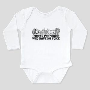 Animal Voice Long Sleeve Infant Bodysuit
